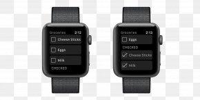 Apple Watch Series 1 - Apple Watch Series 2 Smartwatch PNG