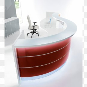 Reception - Desk Furniture Office Supplies Business PNG