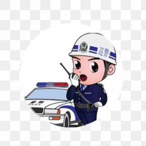 Car - Police Officer Car Parking Enforcement Officer Traffic China PNG