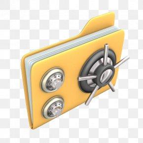 Anti Theft Folder Password - Stock Illustration Clip Art PNG