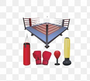 Boxing Ring - Boxing Glove Punching Bag Boxing Ring PNG
