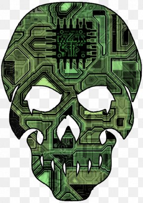 Gamer Skull - Changeling: The Lost Skull World Of Darkness Science Fiction PNG