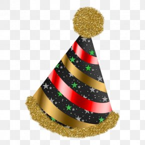 Christmas Hat - Christmas Ornament New Year Clip Art PNG