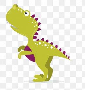 Vector Green Dinosaur - Dinosaur Euclidean Vector Reptile Illustration PNG
