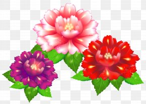Exotic Flowers Clipart Image - Flower Stock Illustration Clip Art PNG