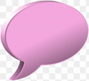 Speech Bubble Pink Transparent Image - Circle Design Product PNG