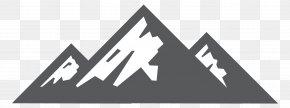 Mountain - Logo Line Brand Angle PNG