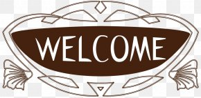 Clothing Store Welcome Welcome Sign Decorative Borders - Clothing Clothes Shop Boutique PNG