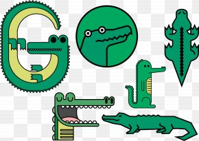Crocodile Vector Illustration PNG