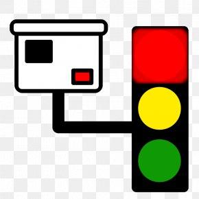 Red Stop Light - Traffic Light Clip Art PNG