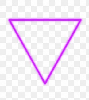 WAY - Born This Way Pink Triangle Magenta Symbol PNG
