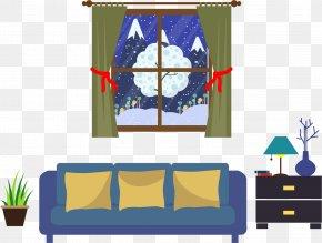 Living Room Interior Design - Living Room Adobe Illustrator PNG