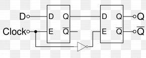 Flip Flop - Flip-flop Edge Triggered Signal Edge Clock Signal NAND Gate PNG