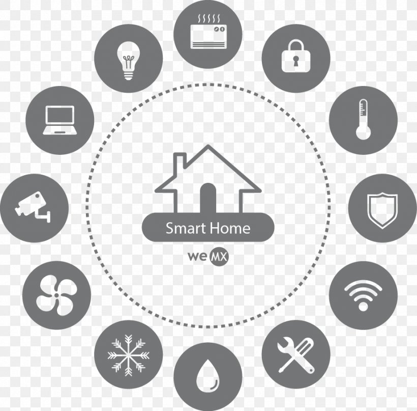 Home Automation Kits Logo Icon Design, PNG, 922x908px, Home Automation Kits, Area, Black And White, Brand, Clock Download Free