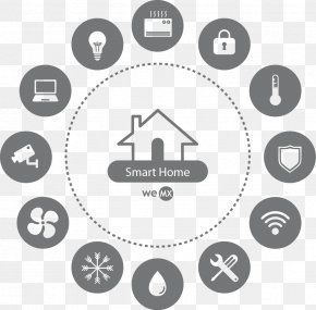 Design - Home Automation Kits Logo Icon Design PNG