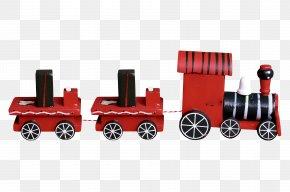 Red Train - Train Calendar New Year Rossprint.ru PNG