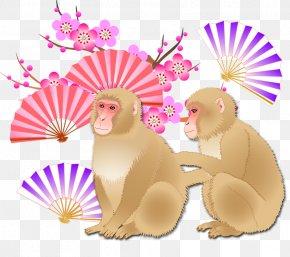 Monkey - Blog Goou30d6u30edu30b0 Food Website Illustration PNG