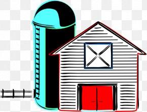 Free Farm Photos - Silo Barn Farm Clip Art PNG