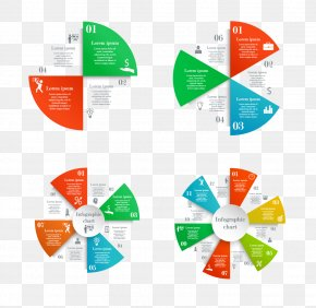 Vector Business Pie Chart - Infographic Circle Pie Chart PNG