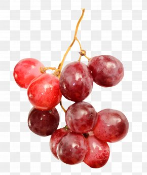 Red Grapes - Red Wine Grape Fruit PNG