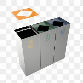 Container - Rubbish Bins & Waste Paper Baskets Recycling Bin Metal Steel PNG