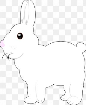 Easter Bunny - Hare Domestic Rabbit Easter Bunny Clip Art PNG