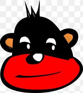 Black Monkey - The Evil Monkey Gorilla Clip Art PNG