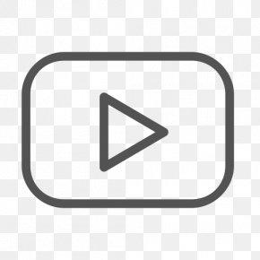 Youtube - YouTube Play Button Social Media Logo PNG
