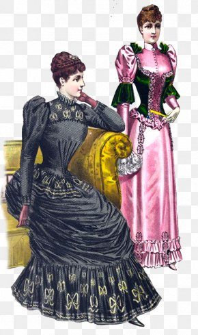 VICTORIAN AGE - Victorian Era Victorian Fashion Clothing Clip Art PNG