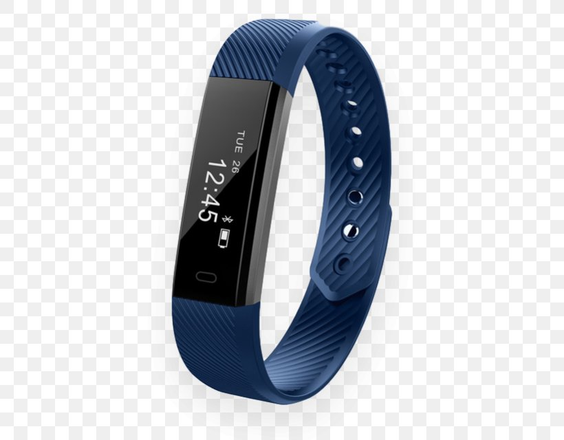 Activity Tracker Heart Rate Monitor Wristband Smartwatch, PNG, 640x640px, Activity Tracker, Alarm Clocks, Blue, Bluetooth Low Energy, Bracelet Download Free