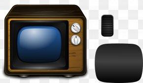 Vintage TV - Old Television Clip Art PNG