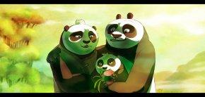 Kung-fu Panda - Po Master Shifu Tigress Mr. Ping Giant Panda PNG