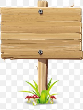 Wood Signs - Wood Sign Billboard Clip Art PNG