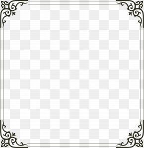 Simple Border - Picture Frame Computer File PNG