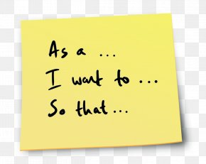 Post It Note - Paper Post-it Note Handwriting Font Line PNG
