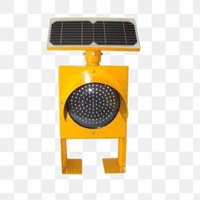 Ambulance Lights Bright - Solar Traffic Light Solar Panels Light-emitting Diode PNG