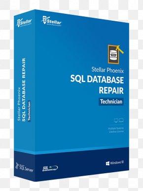 Sql Server Express - Stellar Phoenix Windows Data Recovery Stellar Phoenix Photo Recovery Database PNG