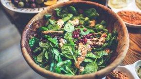 Salad - Vinaigrette Health Food Restaurant Salad Desktop Wallpaper PNG