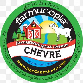 Goat - Goat Cheese Label Sticker PNG