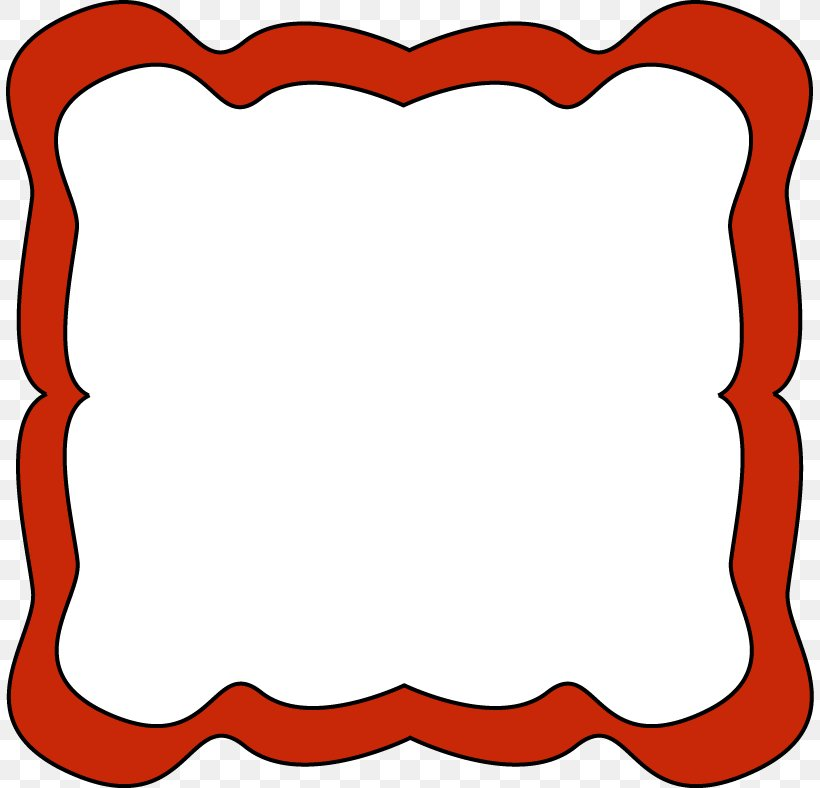 Borders And Frames Picture Frame Red Free Content Clip Art, PNG, 808x788px, Borders And Frames, Area, Bluegreen, Document, Free Content Download Free