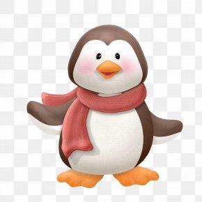 Penguin - Penguin Christmas Clip Art PNG