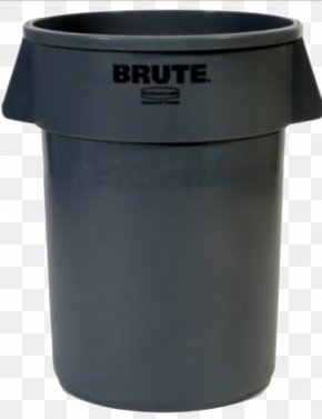 Trash Can - Waste Container Plastic Recycling Bin PNG