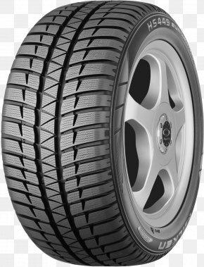 Car Tire - Car Falken Tire Tread Snow Tire PNG