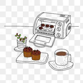 Oven - Cartoon Oven Kitchen Illustration PNG