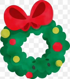 Heart Wreath - Christmas Decoration PNG
