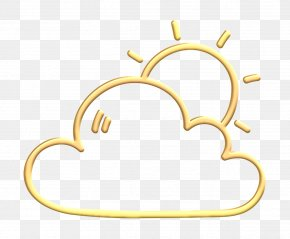 Jewellery Weather Icon - Cloud Icon Cloudy Icon Forecast Icon PNG