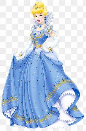 Transparent Princess Clipart - Cinderella Snow White Rapunzel Tiana Disney Princess PNG