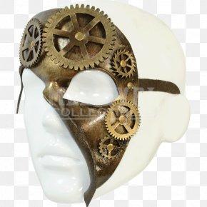 Steampunk Gear - Mask Headgear Pocket Watch Clothing Accessories PNG