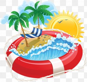 Ki - Summer Vacation Clip Art PNG