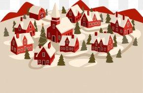 Santa's Castle - The Nelons A Very Nelon Christmas Spotify Illustration PNG